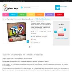 TTMC : Tu Te Mets Combien ? au Passe Temps - Jeu Quizz & Culture Générale