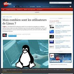 Mais combien sont les utilisateurs de Linux ?