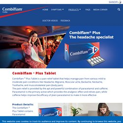 Headache Medicine: Combiflam Plus Tablet