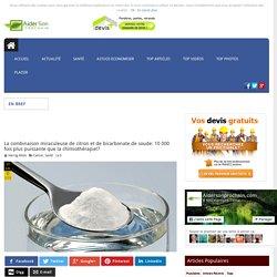 La combinaison miraculeuse de citron et de bicarbonate de soude: 10 000 fois plus puissante que la chimiothérapie!?