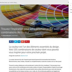 Trouvez l'inspiration pour votre prochain projet avec ces 101 combinaisons de couleur - Le blog de Shutterstock