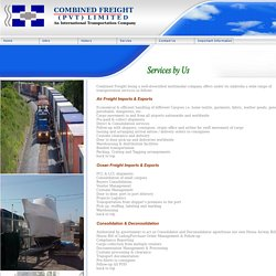 Combined Freight