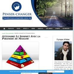 Comblez vos Besoins avec La Pyramide De Maslow - PenserChanger
