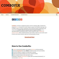 ComboFix | freeware
