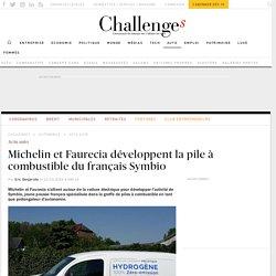Pile à combustible Symbio soutenue par Michelin et Faurecia