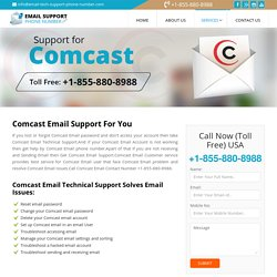 Comcast Email Support +1-855-880-8988