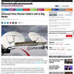 Comcast-Time Warner Cable's Jolt to Big Media
