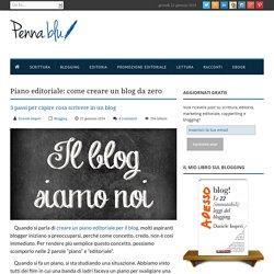 Come creare un blog da zero: 3 passi per aprire un blog