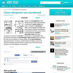 Come disegnare uno storyboard - Very Tech