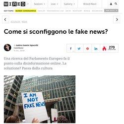 Come si sconfiggono le fake news?