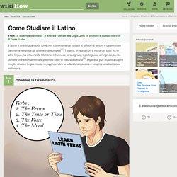 Come Studiare il Latino: 18 Passaggi