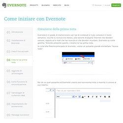 Come iniziare con Evernote