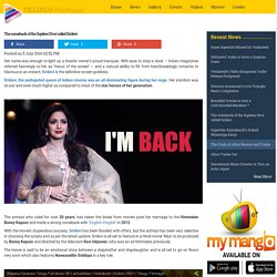 The comeback of the 'Ageless Diva' called Sridevi