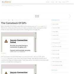 The Comeback of GIFs