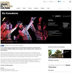 Els Comediants. Theatre at Spain is culture.