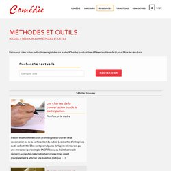 Méthodes et outils