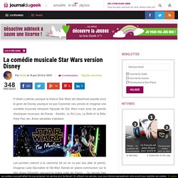 La comédie musicale Star Wars version Disney