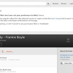 Comedy - Frankie Boyle