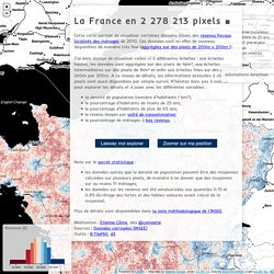 @comeetie : carte données carroyées