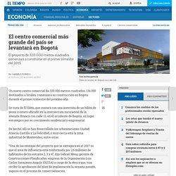 El centro comercial más grande de Colombia - Sectores