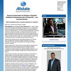 Nuevos Comerciales de Allstate en Español Enfatizan la Importancia de la Protección con una Voz Familiar