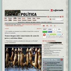 La Jornada: Temen choques entre comerciantes de carne de perro y activistas chinos