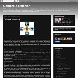 Comercio Exterior: Tipos de Transporte