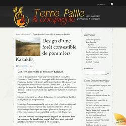 Design d'une forêt comestible de pommiers Kazakhs