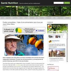 Forêts comestibles : l'idée d'une alimentation pour tous par Juan Anton Mora