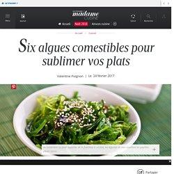 Six algues comestibles pour sublimer vos plats - Cuisine /...