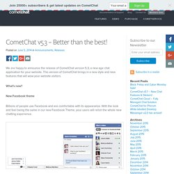 CometChat v5.3 - Better than the best! - Blog