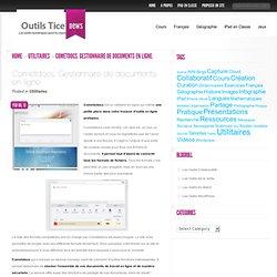 Cometdocs. Gestionnaire de documents en ligne