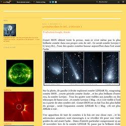 4 comètes dans le ciel... ( très rare ) - Le blog de Ferlinpimpim