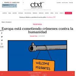 Europa está cometiendo crímenes contra la humanidad