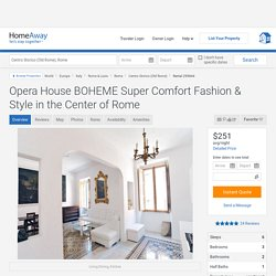 WE ARE STAYING HERE: Opera House BOHEME Super Comfort Fashion... - HomeAway Centro Storico (Old Rome)