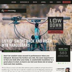 List of Comfort MTB Handlebars - Bikepacking.com