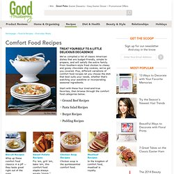 Comfort Food Recipes - Best Comfort Food