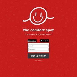 the comfort spot - the quiet place project