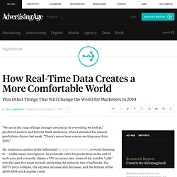 How Real-Time Data Creates a More Comfortable World - Advertisin