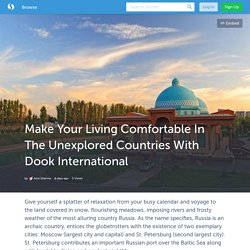 Make Your Living Comfortable In The Unexplored Countries With Dook International (with images) · iamanvi