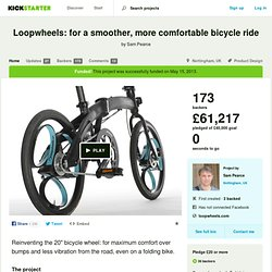 Loopwheels: for a smoother, more comfortable bicycle ride by Sam Pearce
