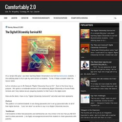 fortably 2.0: The Digital Citizenship Survival Kit