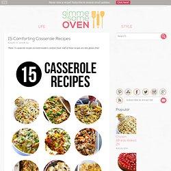 15 Comforting Casserole Recipes