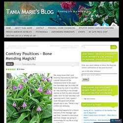 Comfrey Poultices – Bone Mending Magick!