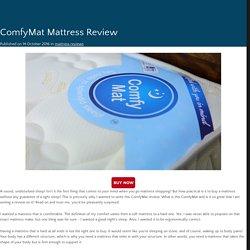 ComfyMat Mattress Review
