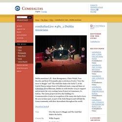 comhaltasLive #481_1:Dublin musicians