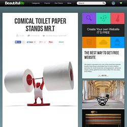 Comical Toilet Paper Stands Mr.T