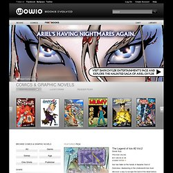eBooks, Comics and Graphic Novels from WOWIO