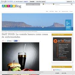 DOCENTESCONECTADOS+COMIDACHATARRA,FAST FOOD: La comida basura como causa de enfermedades