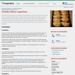 Comidas típicas argentinas